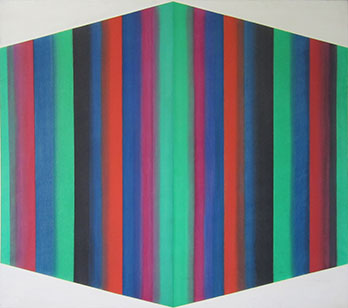 Leon Berkowitz, Untitled, Oil on Canvas, 70 x 77 inches, 1966