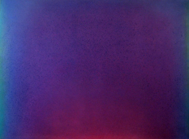 Leon Berkowitz, Unity 31, Oil on Canvas, 64 x 86 inches, 1973