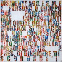 Jose Angel Vincench, Dissident (Italian): Compromise or Fiction of the Painting Series, Acrylic on Canvas, 2009-2010, 48 x 48 inches, JAV6