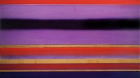 Casper Brindle, Purple Stratum, 29 x 59 x 2.5 inches, Acrylic, Wood, Resin, 2010, CBR3