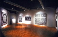 The 1986 exhibit of Pousette-Dart's black and white paintings