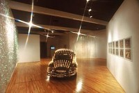 Eric Staller's 'Lightmobile' with its 1,657 programmed lightbulbs