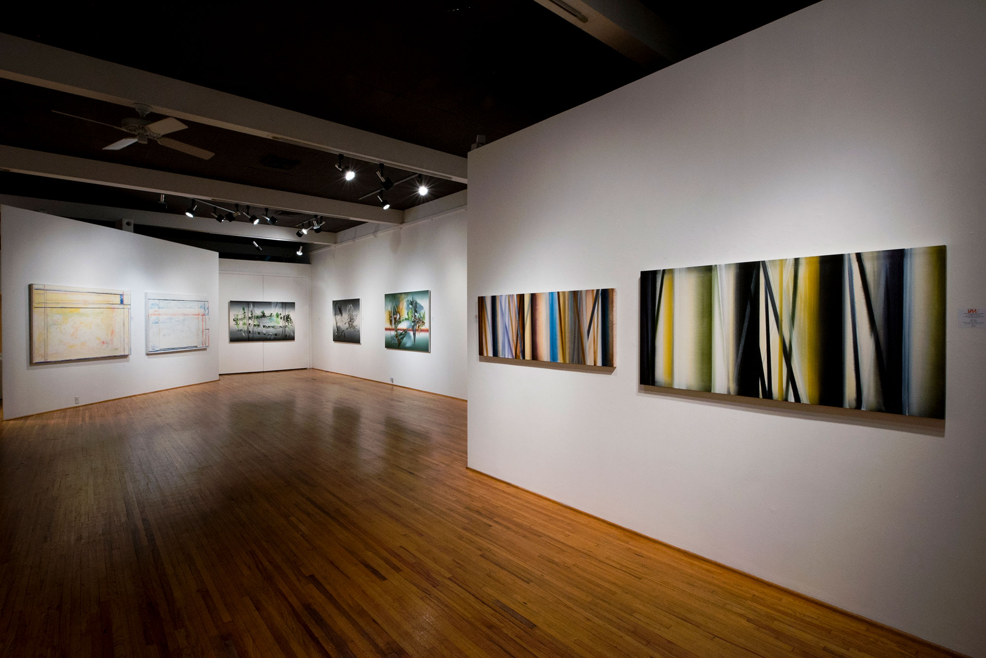 Abstract Diversity in Painting Installation